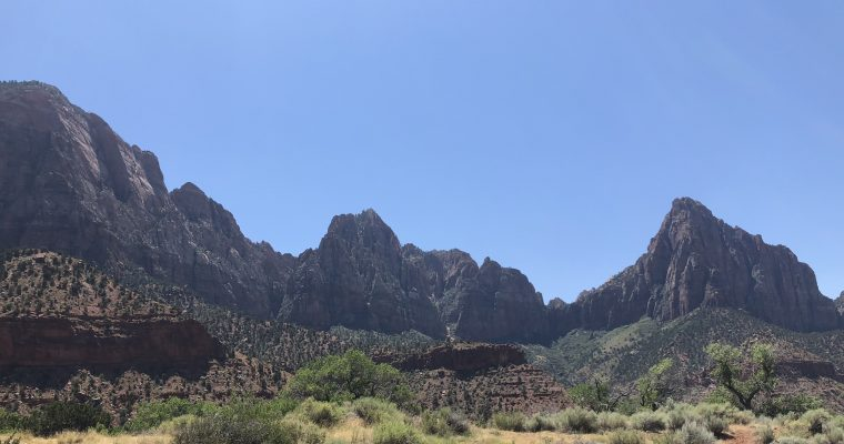 #3 The American Dream: An unexpected avdenture in Zion National Park